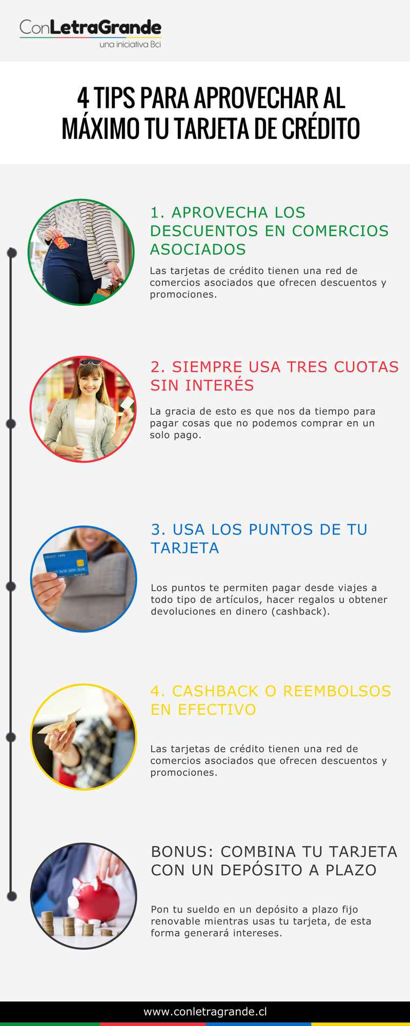 4 tips para aprovechar al máximo tu tarjeta de crédito