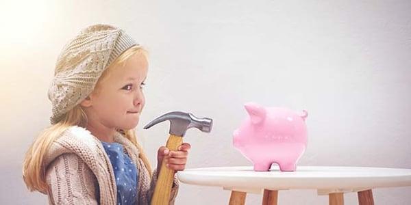 Cómo enseñarle a tus hijos el valor del dinero